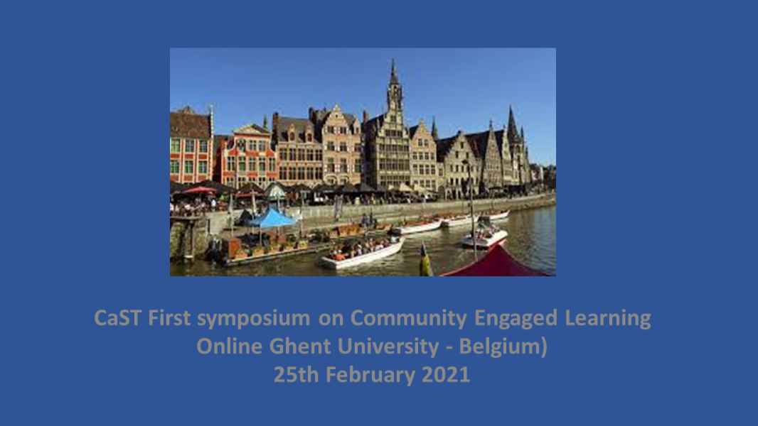 CaST First On line Symposium on Community Engaged Learning. A follow-up